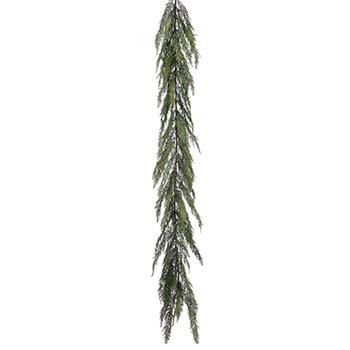 54. Green Cedar Garland 6ft