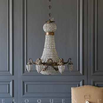 Eloquence® Beaded Chandelier 27W/33H