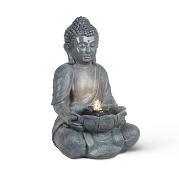 Water Feature Buddah Bowl LED 17in