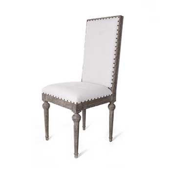 Italian Louis Chair 18W/18D/42H