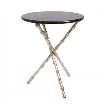 Bamboo Table 19W/23H Champagne
