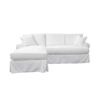Sarah Slipcover Chaise LF 98W/40D/33H