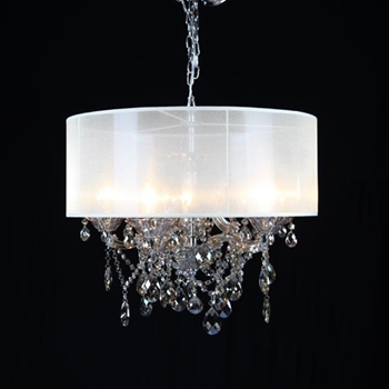 Champagne Shade Chandelier 25W/20H