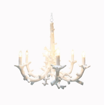 Coral Chandelier 33W/39H