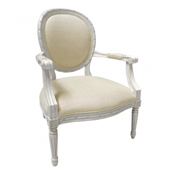 Chair Sophie Muslin 26W/29D/38H