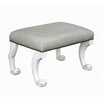 Chair Ajax Ottoman Silvery Moon 26W/19D/17H