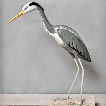 Great Heron Standing 28in