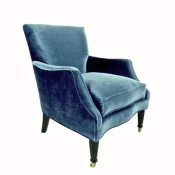 Georgia Chair 29W/39D/38H Denim Gian