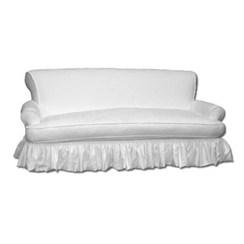 Emma Sofa 84W/41D/38H White Denim