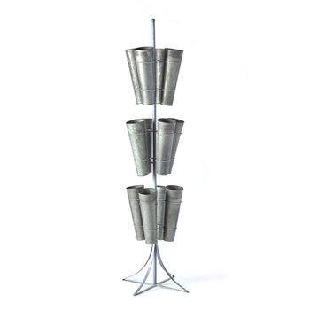 12 Bucket Stand 23W/79H