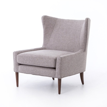Marlow Wing Chair 30W/34D/35H Pebble