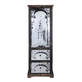 Cathedral Cabinet 20W/15D/57H