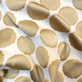 68. Gold Jacquard Well Rounded