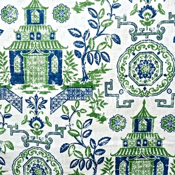 51. Emerald Toile Teahouse Kelly