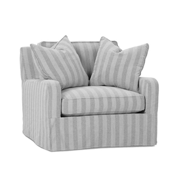 Charles Chair 40W/43D/36H Slipcover
