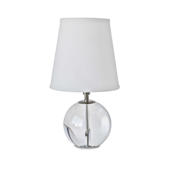 Crystal Orb Table Lamp