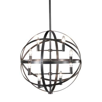 Lucy Dark Bronze Pendant Light