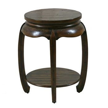 Chinese Antique Finish Side Table