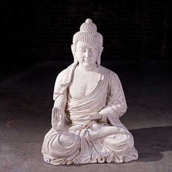 Buddha White Wash - 4ft