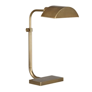 Koleman Task Natural Bronze Table Lamp