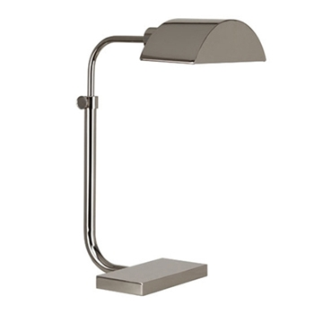 Koleman Task Nickel Table Lamp