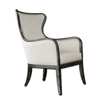Sandy Wing Back Oyster Chair