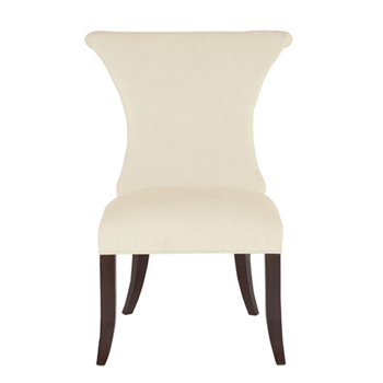 Jetset Side Chair 23W/29D/39H Ivory