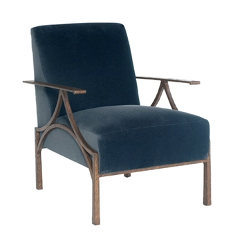 Carmel Chair 28W/34D/34H Patina