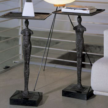 Man & Woman Figure Side Tables