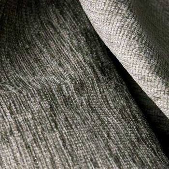 Pewter Chenille Solid w/ Lurex