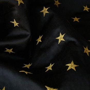 Black Jacquard Star Mini