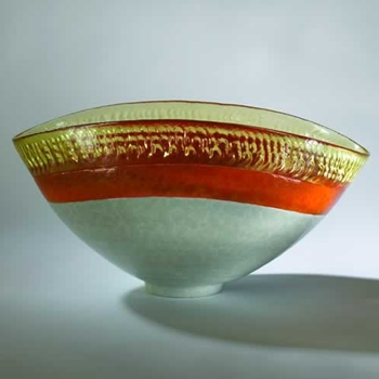 Mandarin Oval Orange Bowl