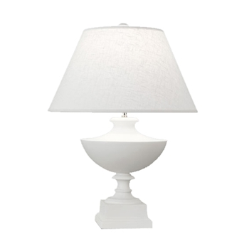 Freya White Table Lamp