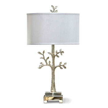 Silver Tree Table Lamp