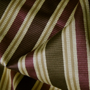 Aubergine Stripe Amberly Raisinette