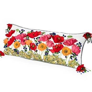 Poppy Field Bolster