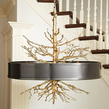 Twig Bronze Pendant Lamp