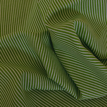 Lime Stripe Ticking