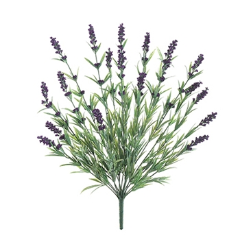 Lavender Natural Spray/19 Heads 20in