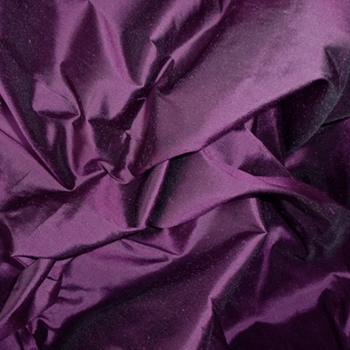 Purple Silk Shantung