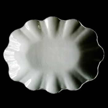 Marguerite Oval Platter 13in