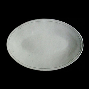 Simple Oval Platter 14in
