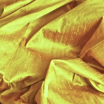 Yellow Dupioni Silk