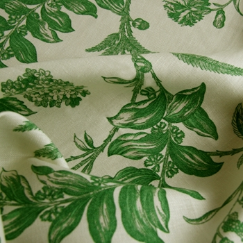 Emerald Toile Solomon's Seal