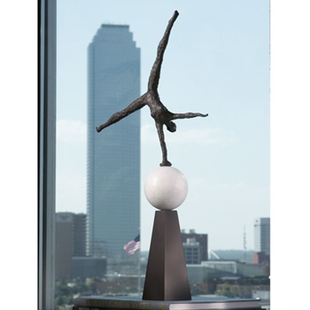 Acrobat Ball Figurine