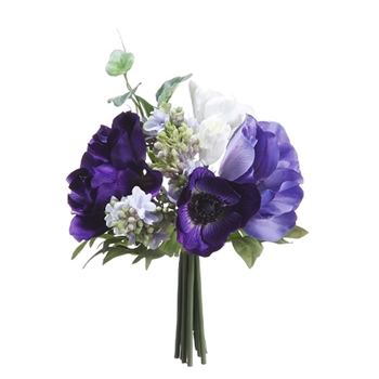 Blue Bouquet 8in