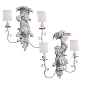 Monkey Sconce/Pair Direct