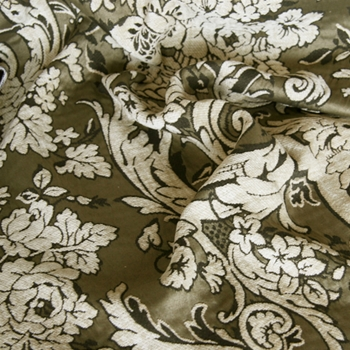 Pebble Chenille Perricone Damask