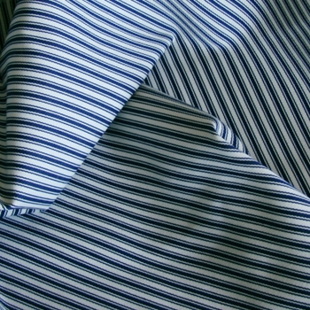 31. Blue Sunbrella Tic Stripe Outdoor
