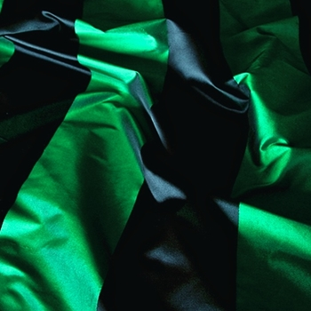 51. Emerald Silk Stripe Satin